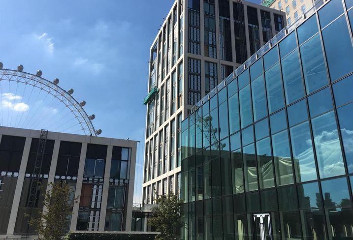 budova v londyne v ktorej sidli coworking