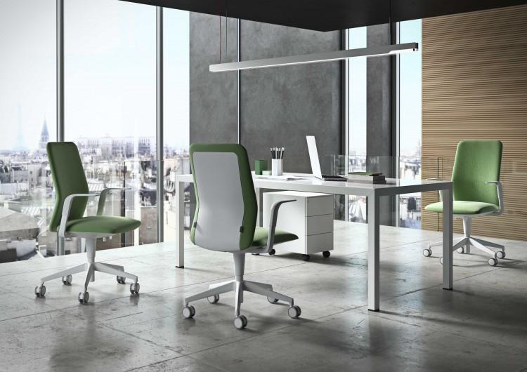 Elegantna pracovna stolicka Kappa pre minimalisticke priestory
