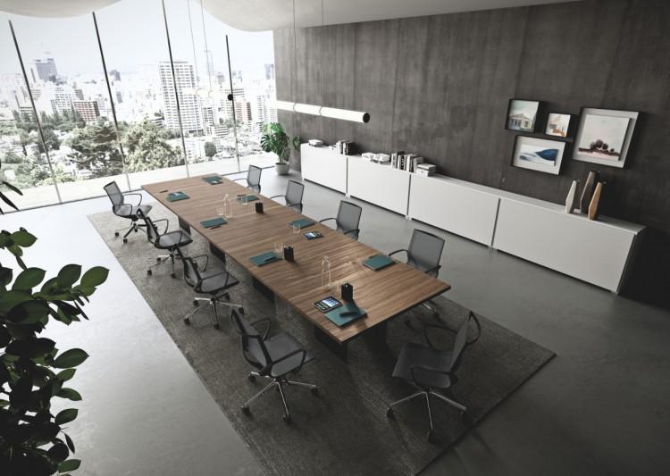 Rokovacie stoličky Key line v reprezentativnych rokovackach
