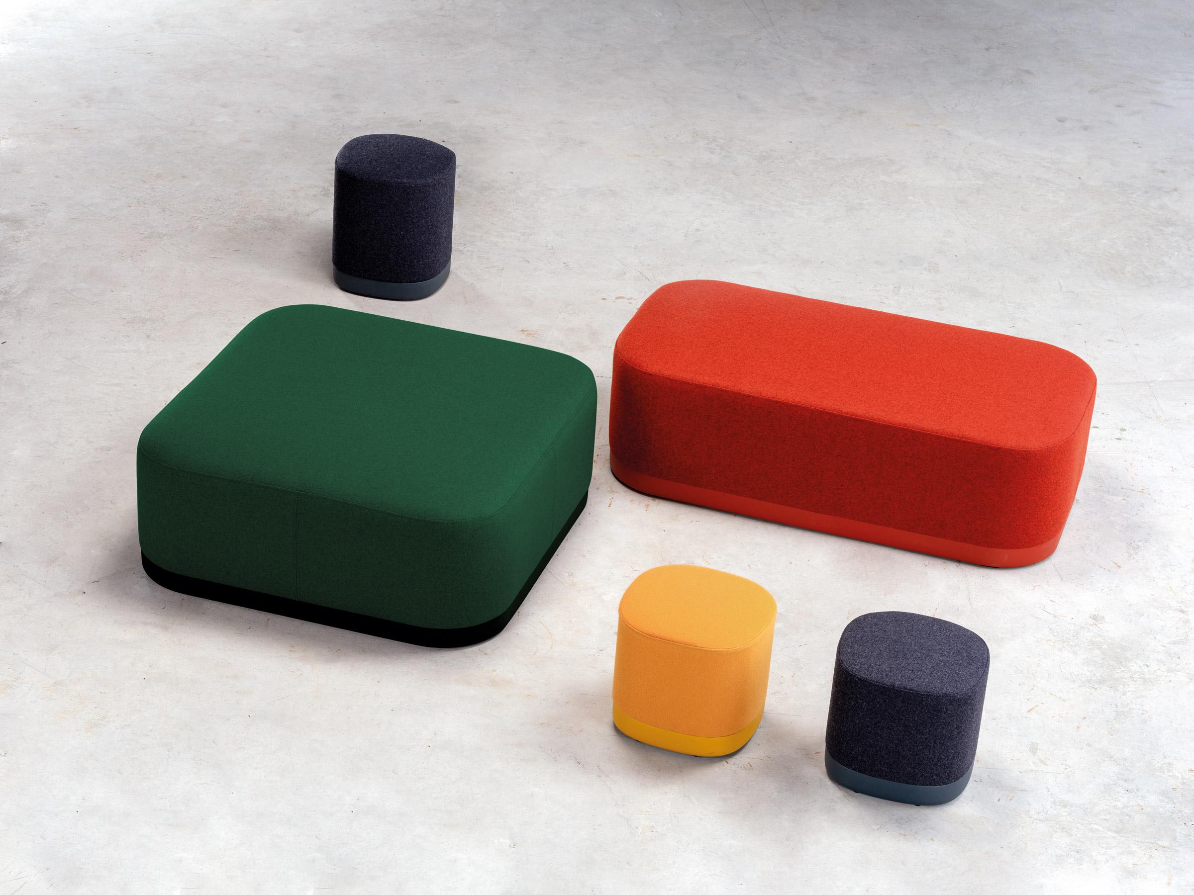 taburetky roznych miestnosti a farieb puck of enea