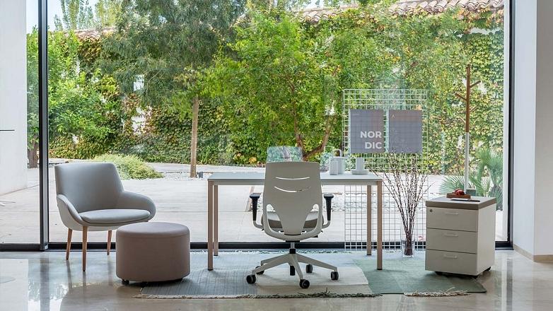 home office v skandinavskom style